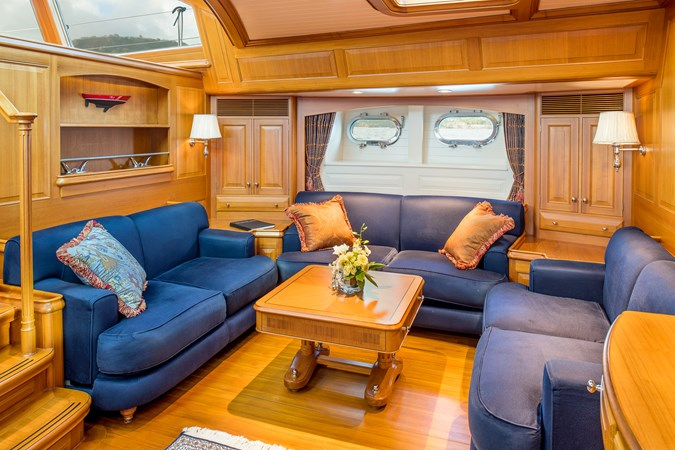 Main Salon 1998 ALLOY Sailing Ketch Cruising Ketch 2516594