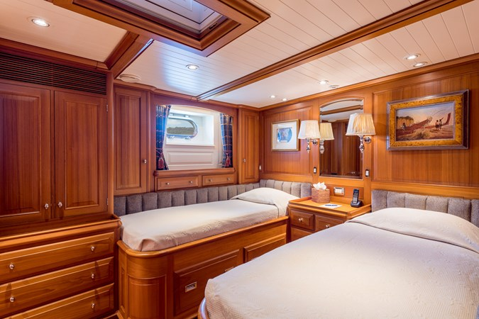 Twin Guest Stateroom 1998 ALLOY Sailing Ketch Cruising Ketch 2516601