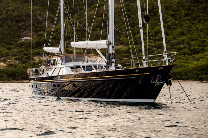 At Anchor 1998 ALLOY Sailing Ketch Cruising Ketch 2516620
