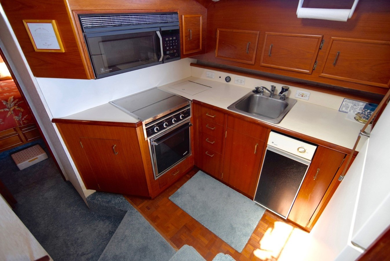 Galley 1988 Ocean Yachts Sport Fisher Motor Yacht 2520349
