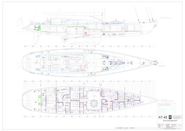 General Arrangement Plan 2013 ALLOY  Cutter 2521375