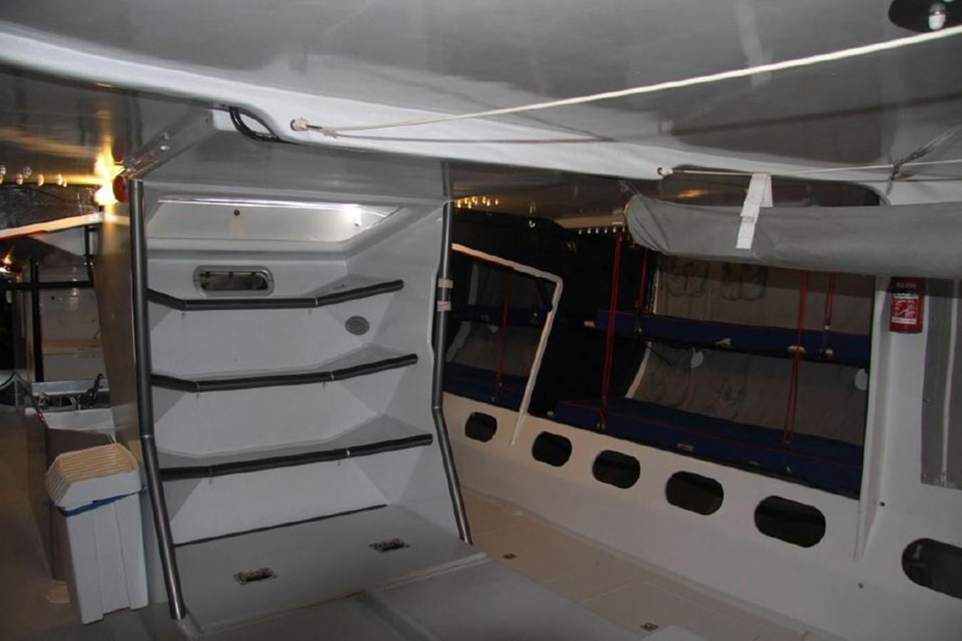 1989 CUSTOM Whitbread Maxi 81 Racing Sailboat 2521139