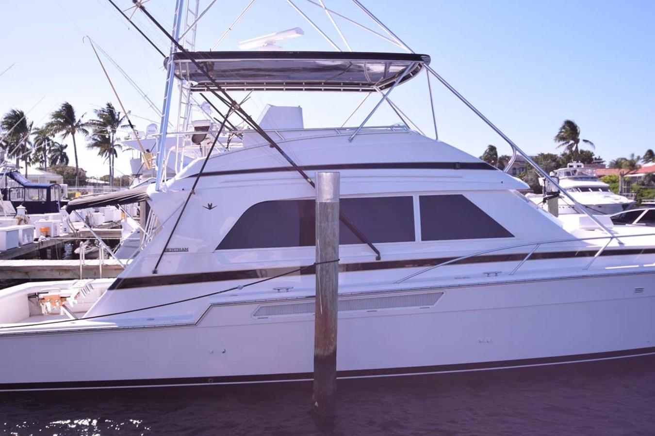 Profile at Dock 1998 BERTRAM 60 Convertible Sport Fisherman 2531919