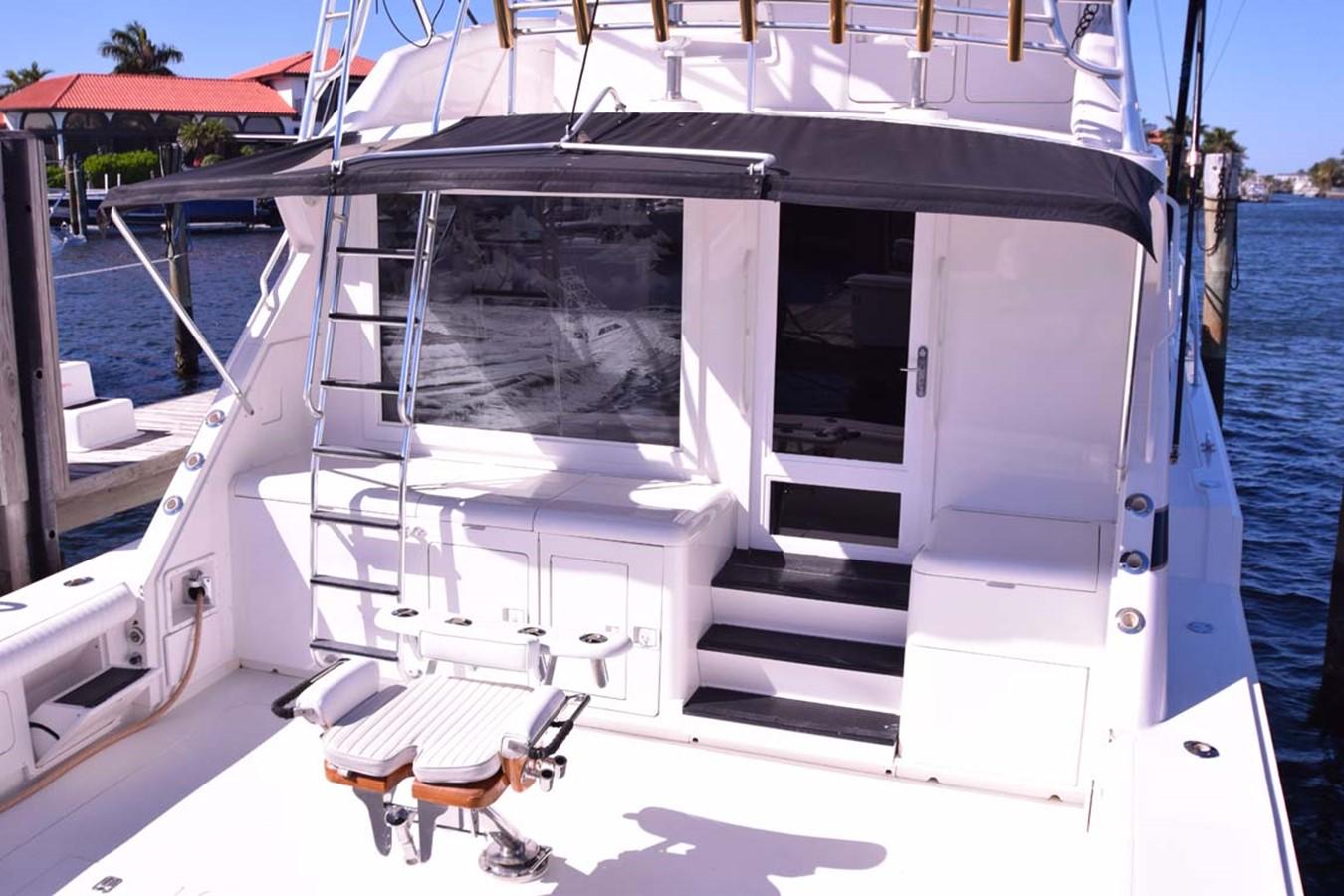 Stern View 1998 BERTRAM 60 Convertible Sport Fisherman 2532014