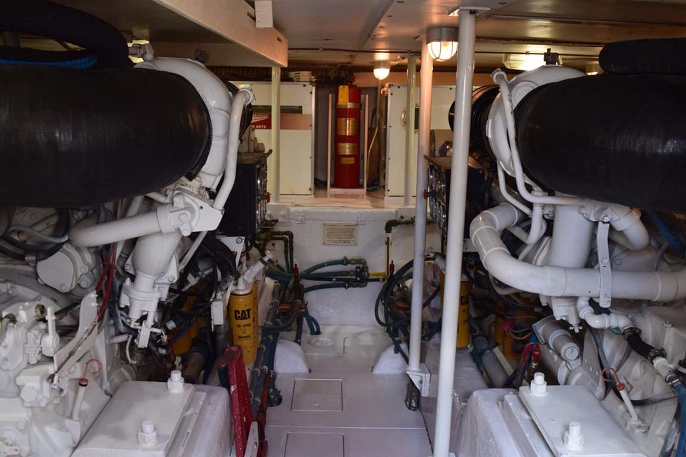 Engine Room 1998 BERTRAM 60 Convertible Sport Fisherman 2700113