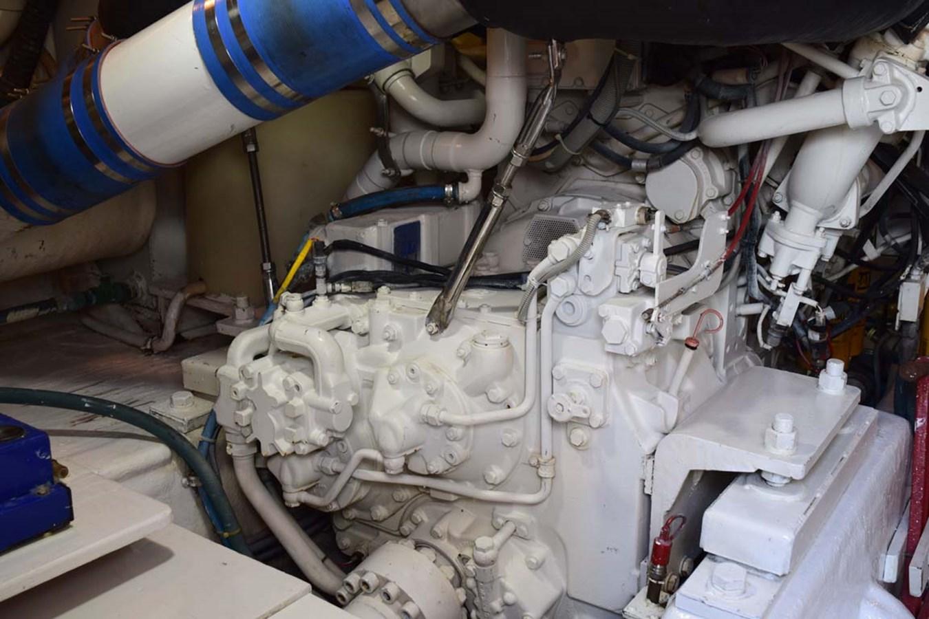 Engine Room 1998 BERTRAM 60 Convertible Sport Fisherman 2700117