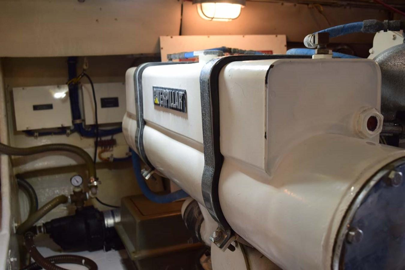 Engine Room 1998 BERTRAM 60 Convertible Sport Fisherman 2700126