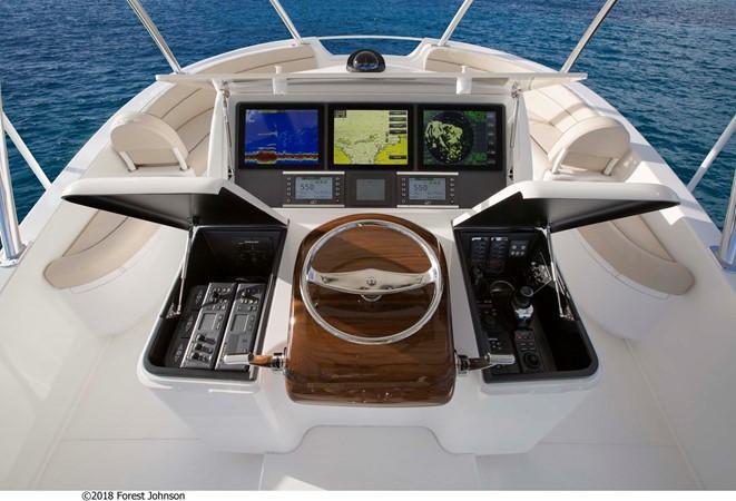 2020 VIKING Enclosed Bridge w/ Skybridge Sport Fisherman 2525010