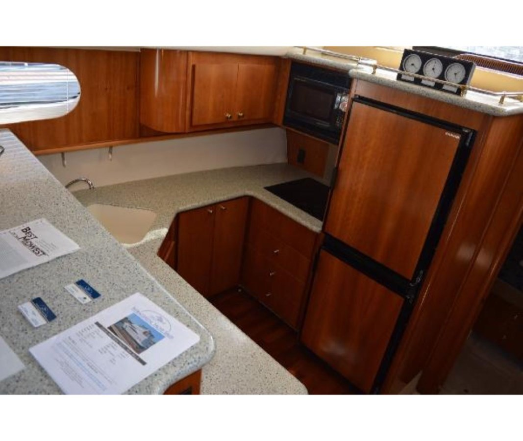 Galley 1 2001 CARVER 46 Motor Yacht Motor Yacht 2524712