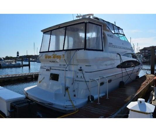 Starboard Corner 2001 CARVER 46 Motor Yacht Motor Yacht 2524687