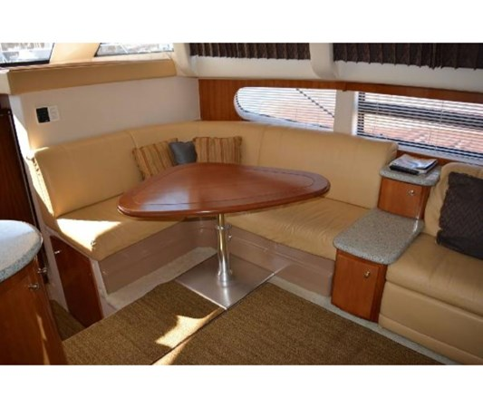 High Low Dinette Table 2001 CARVER 46 Motor Yacht Motor Yacht 2524707