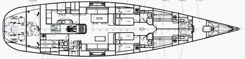 2010 ML SHIPYARD Soto 83 Custom Sloop Cruising Sailboat 2526303