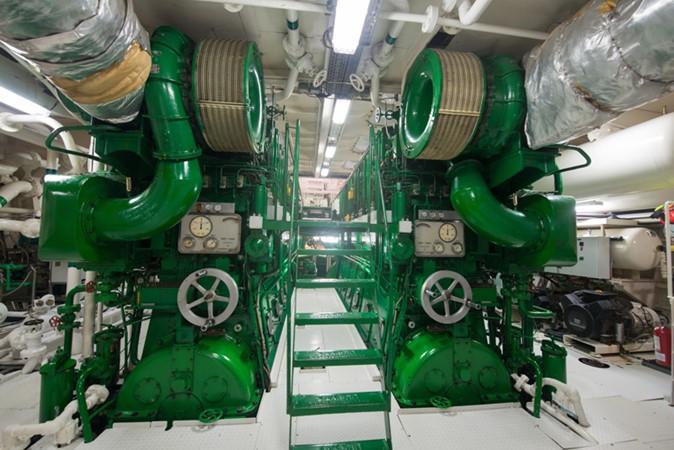 Engine Room Main Engines 1957 SCHEEPSWERF SMIT  Motor Yacht 2527144
