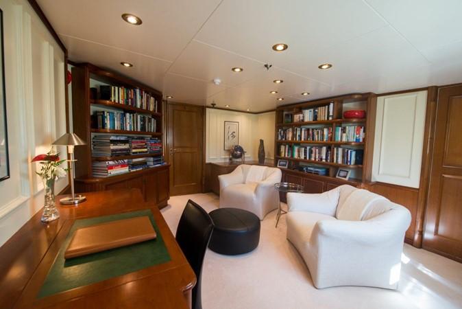 Library - Owner's Deck 1957 SCHEEPSWERF SMIT  Motor Yacht 2533111