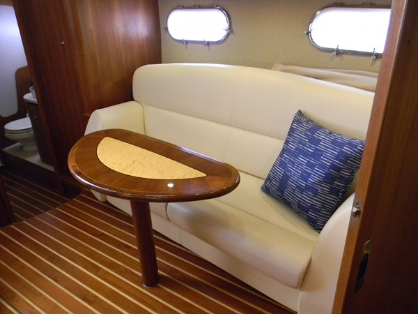 Salon/Dinette with Table 2008 TIARA 3900 Sovran Cruiser 2528021
