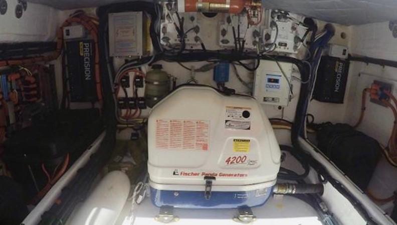 Panda 4.2 KW Diesel Generator 2014 INTREPID 475 Panacea Center Console 2531223