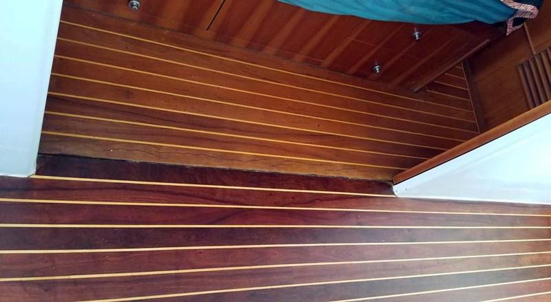 Refinished Floors 2009 MALCOLM TENNANT MULTIHULL DESIGN Domino 20 Catamaran 2792865