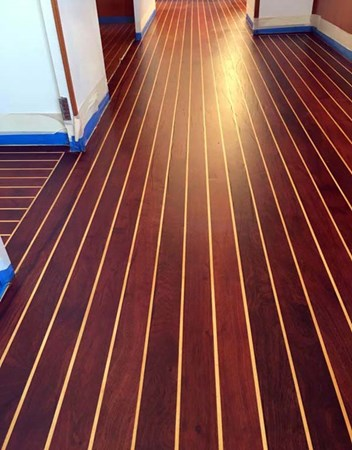 Refinished Floors 2009 MALCOLM TENNANT MULTIHULL DESIGN Domino 20 Catamaran 2792866