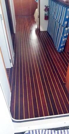 Refinished Floors 2009 MALCOLM TENNANT MULTIHULL DESIGN Domino 20 Catamaran 2792868