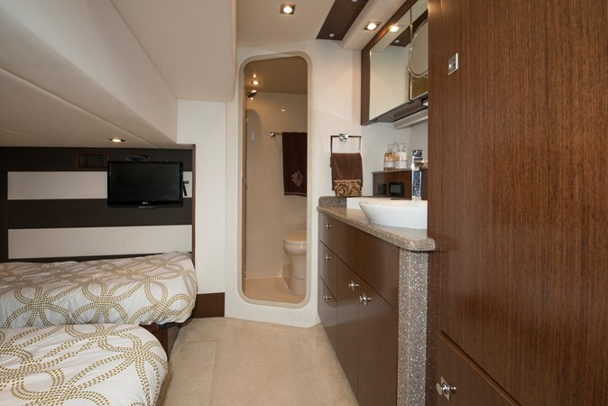 Guest Stateroom  Room Head & Shower 2013 Cruisers Yachts 41 Cantius Cruiser 2536568