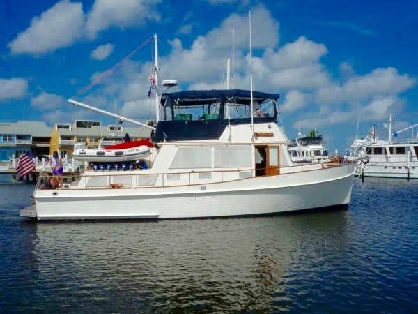 1985 GRAND BANKS 2 staeroom classic Trawler 2542374