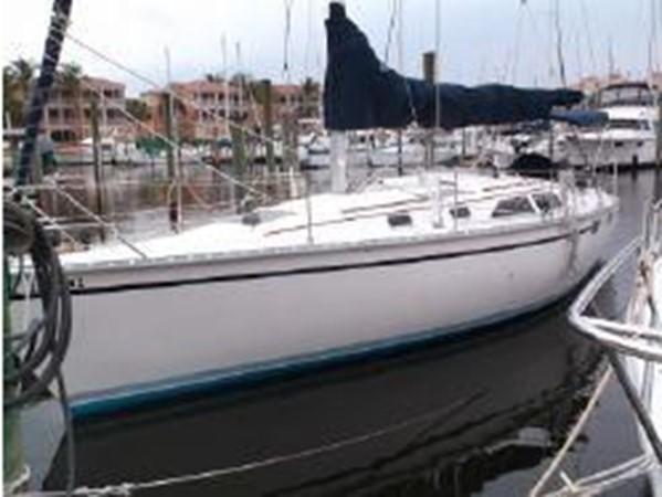 1989 HUNTER 35.5 Classic Yacht 2543458
