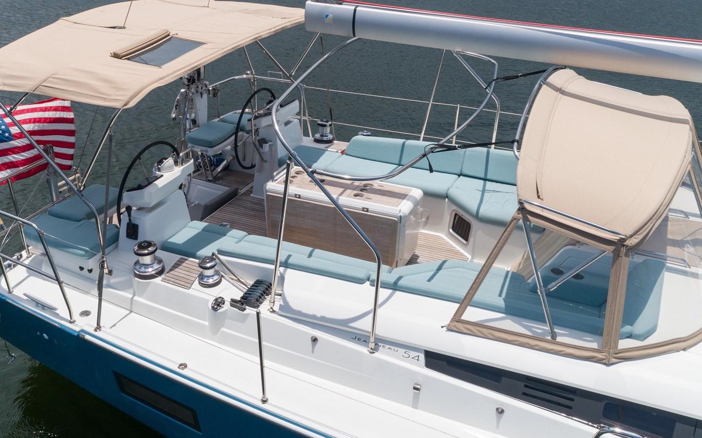 52 2017 JEANNEAU 54 Cruising Sailboat 2702686