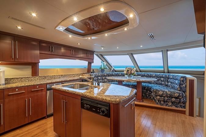 Galley 2002 LAZZARA Skylounge Motor Yacht 2563958