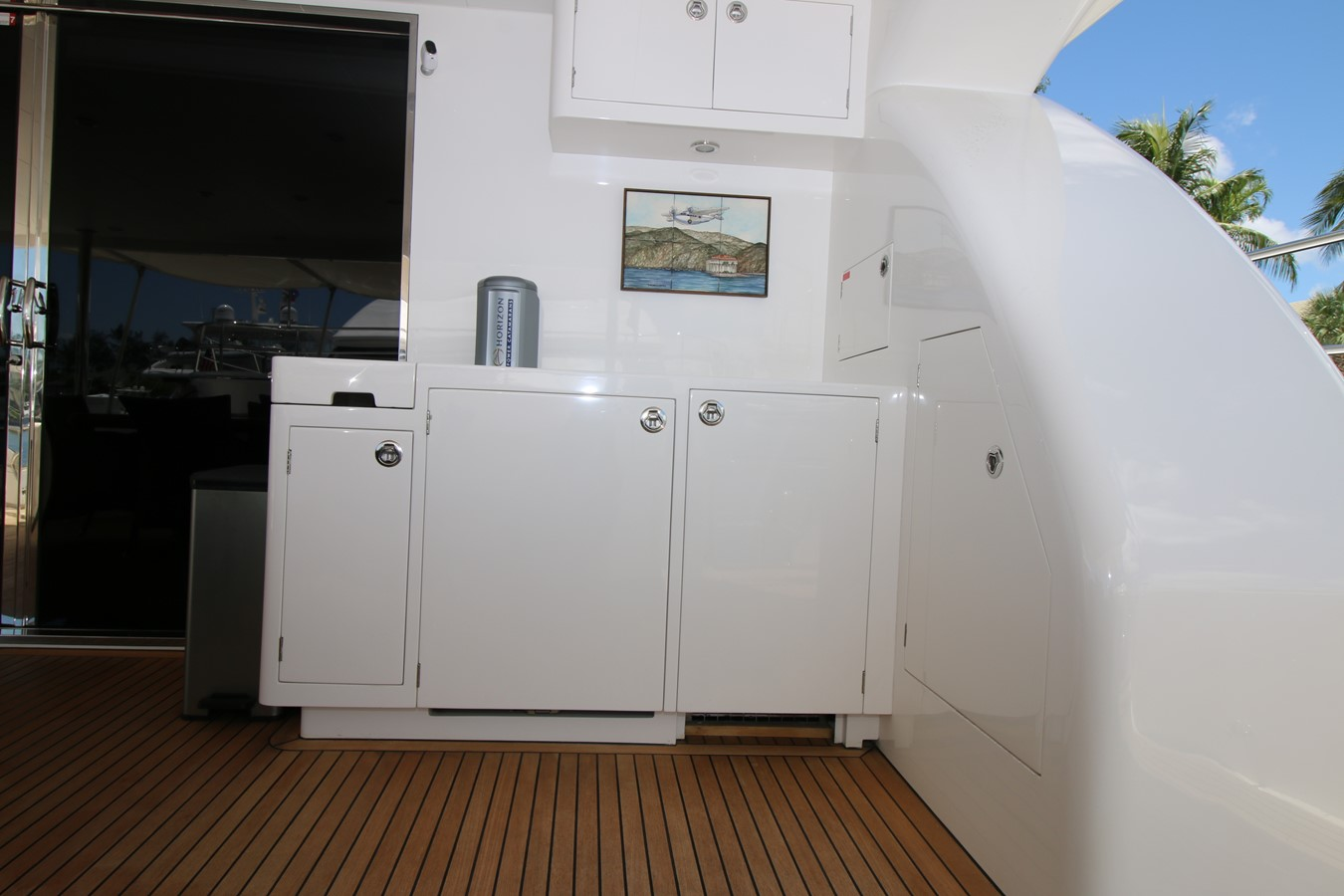 AFT DECK BAR 2014 HORIZON PC60 SKYLOUNGE Catamaran 2547229