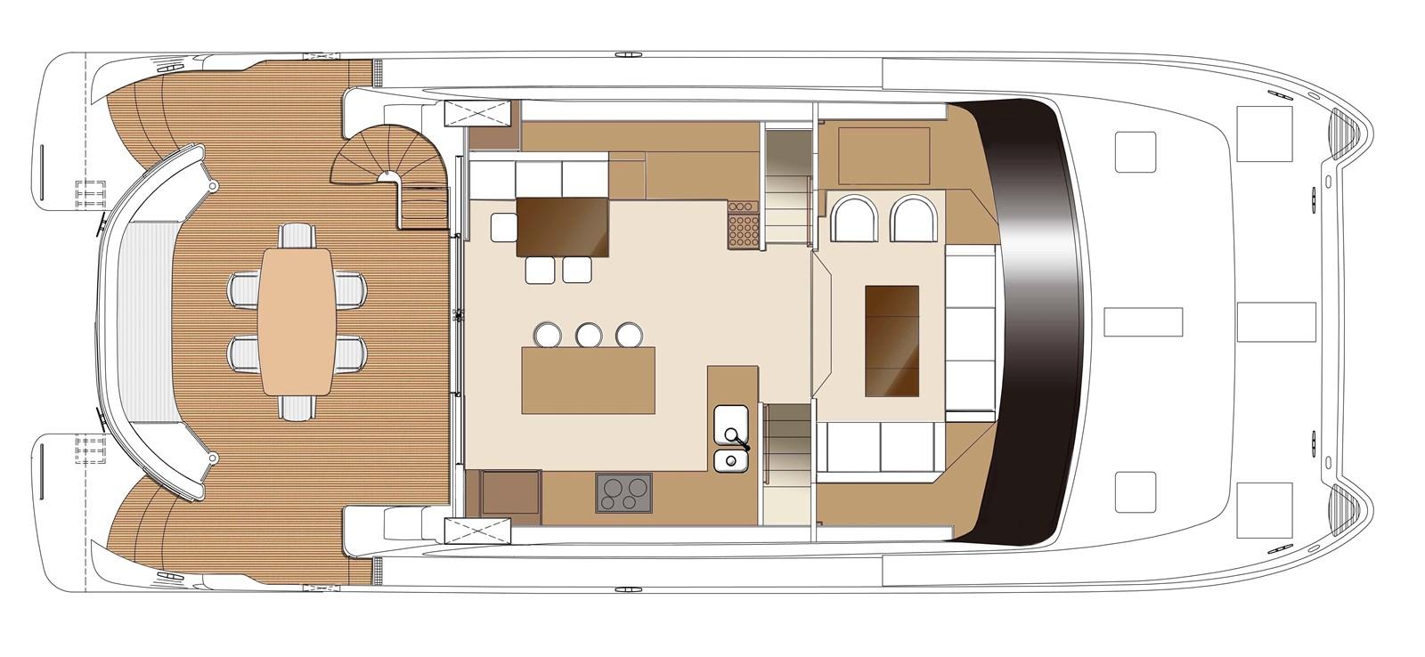 PC60-OPEN SALON GA_SALON 2018 HORIZON 60 PC Open Floorplan Catamaran 2941246