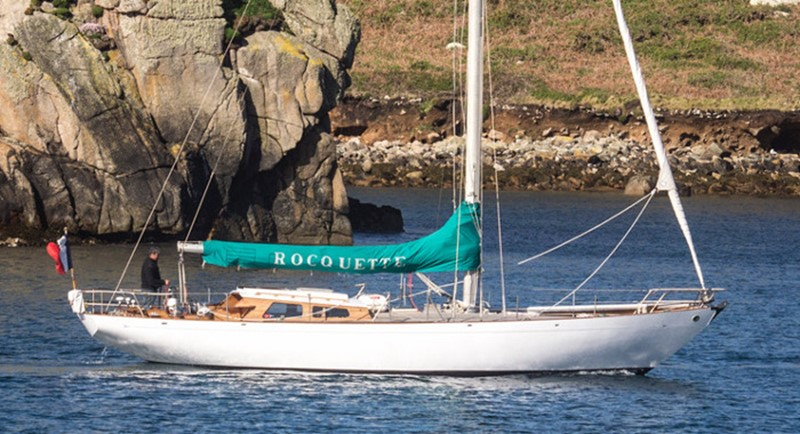 1964 CAMPER & NICHOLSONS Classic Sailing Yacht Racing Sailboat 2544673