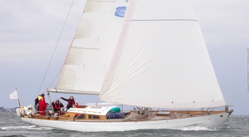 1964 CAMPER & NICHOLSONS Classic Sailing Yacht Racing Sailboat 2544675