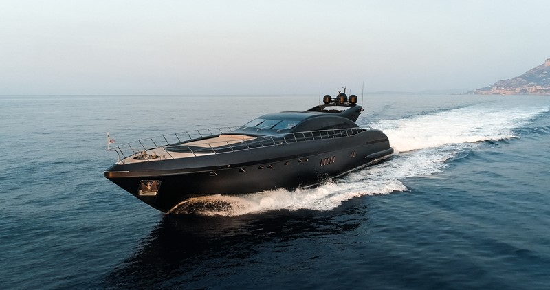 Neoprene 2002 OVERMARINE - MANGUSTA Mega Yacht MLS #255202 | YBAA Yachts  For Sale