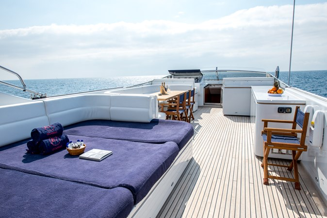 flybriidge-from-aft2 2010 CANTIERE NAVALI  Motor Yacht 2547935