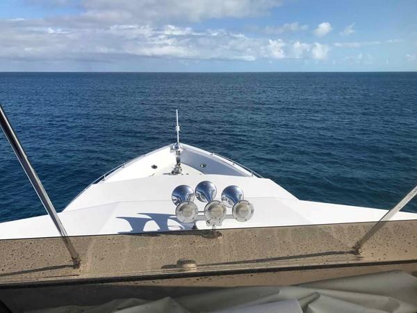Bow Area 1990 BROWARD Custom Extended Motor Yacht 2546481
