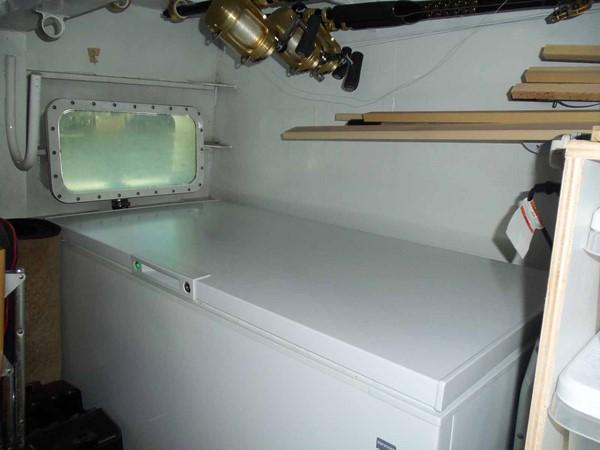Lazarette Chest Freezer 1990 BROWARD Custom Extended Motor Yacht 2546494