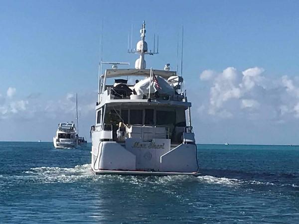 Transom 1990 BROWARD Custom Extended Motor Yacht 2546526