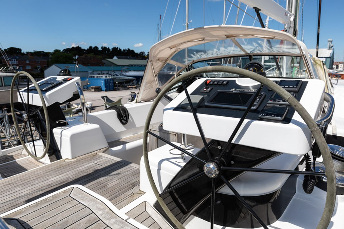 2012 DISCOVERY Discovery 57 Cruising Sailboat 2546337
