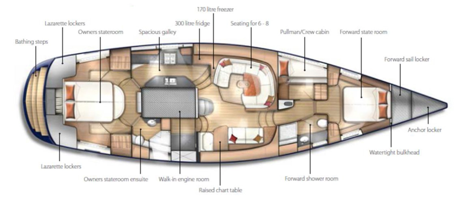 2012 DISCOVERY Discovery 57 Cruising Sailboat 2546392
