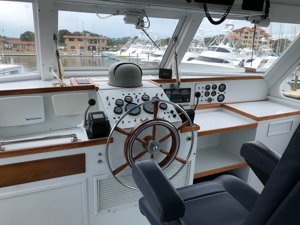 Bridge 2019#1 1980 HUCKINS  Motor Yacht 2802404