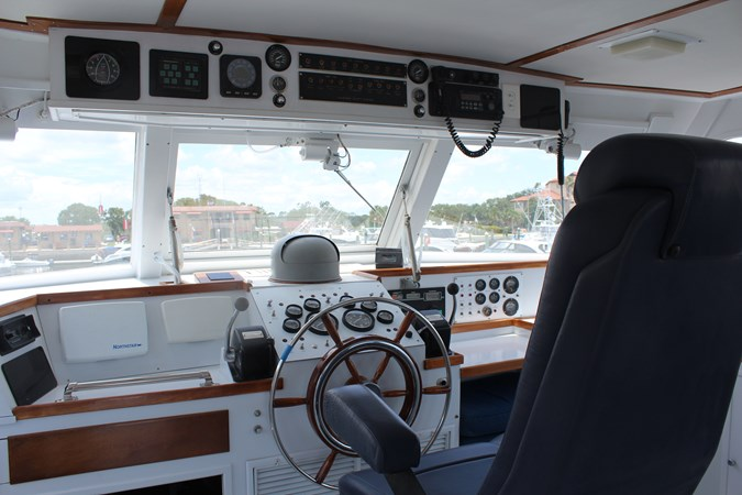 Bridge 2019#4 1980 HUCKINS  Motor Yacht 2802405