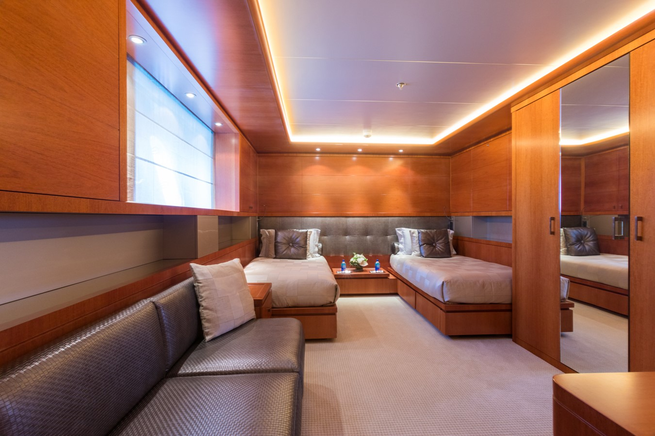 Lower Deck Port Twin Guest Stateroom - 214 CODECASA For Sale