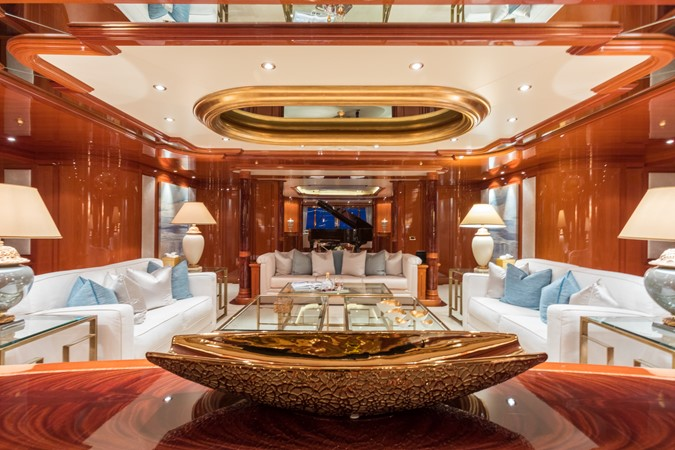 Main Salon Looking Aft 2010 CODECASA  Motor Yacht 2548482