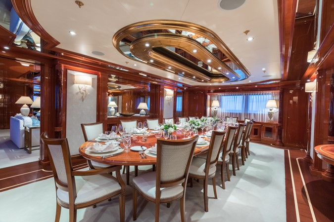 Main Deck Dining Area 2010 CODECASA  Motor Yacht 2548484