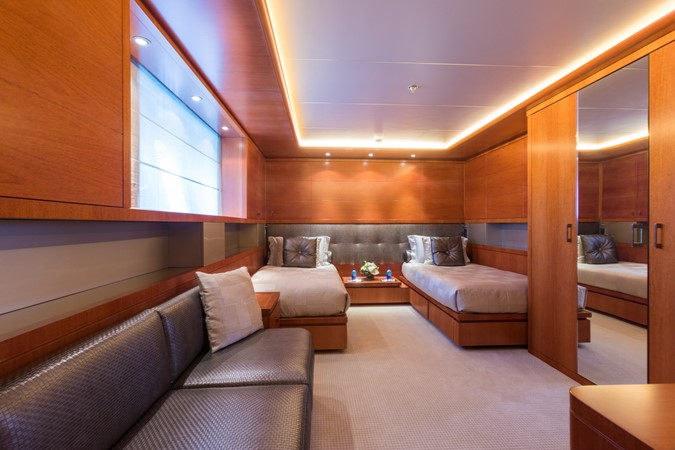 Lower Deck Port Twin Guest Stateroom 2010 CODECASA  Motor Yacht 2548506