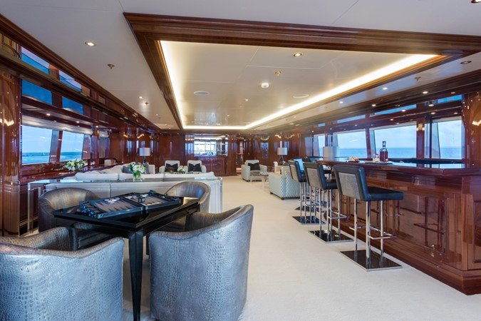 Upper Deck Salon Looking Forward 2010 CODECASA  Motor Yacht 2548509