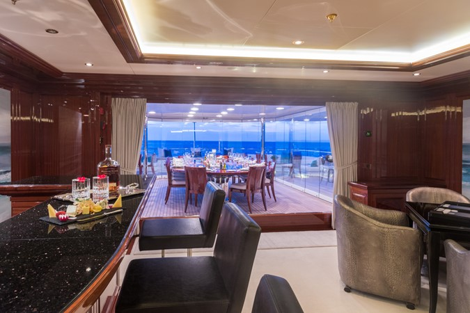 Upper Deck Salon Bar 2010 CODECASA  Motor Yacht 2548511