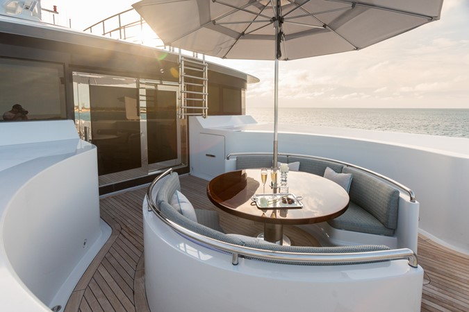Upper Deck Private Master Lounge 2010 CODECASA  Motor Yacht 2548518