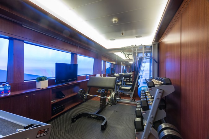 Bridge Deck Gym 2010 CODECASA  Motor Yacht 2548521
