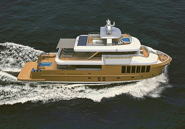2021 CUSTOM BOAT by CASA DEL MOTORE  Expedition Yacht 2563553